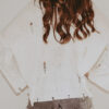 ivory distressed sweater back